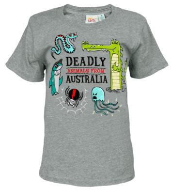 Deadly Animals Kids T-Shirt