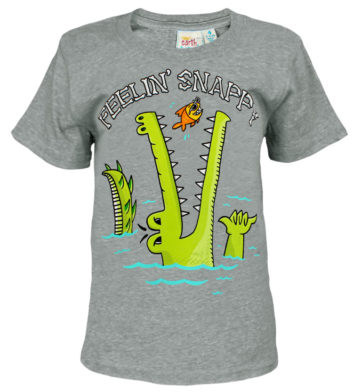 Feeling Snappy Crocodile Kids T-Shirt