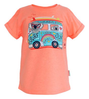 Girls Koala Kombi Kids T-Shirt