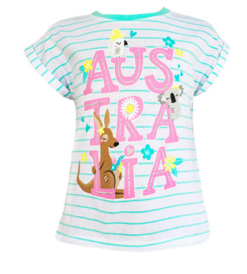 Australia Girls T-Shirt