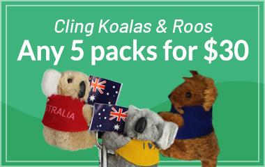 Cling Koalas & Cling Kangaroos