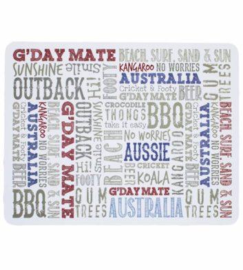 Australian Iconic Place Mats