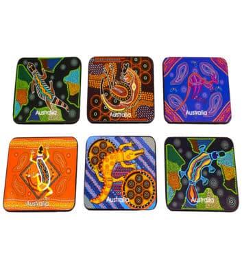 Dot Animal Cork Coasters