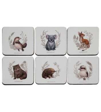Australian Animals Coaster Set
