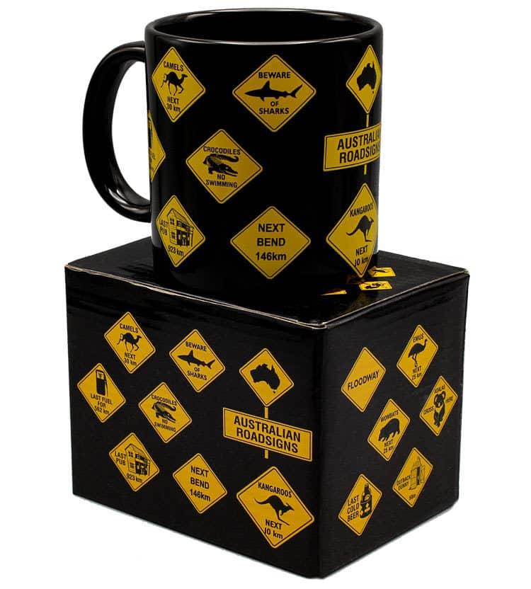 Australian Roadsign Mug
