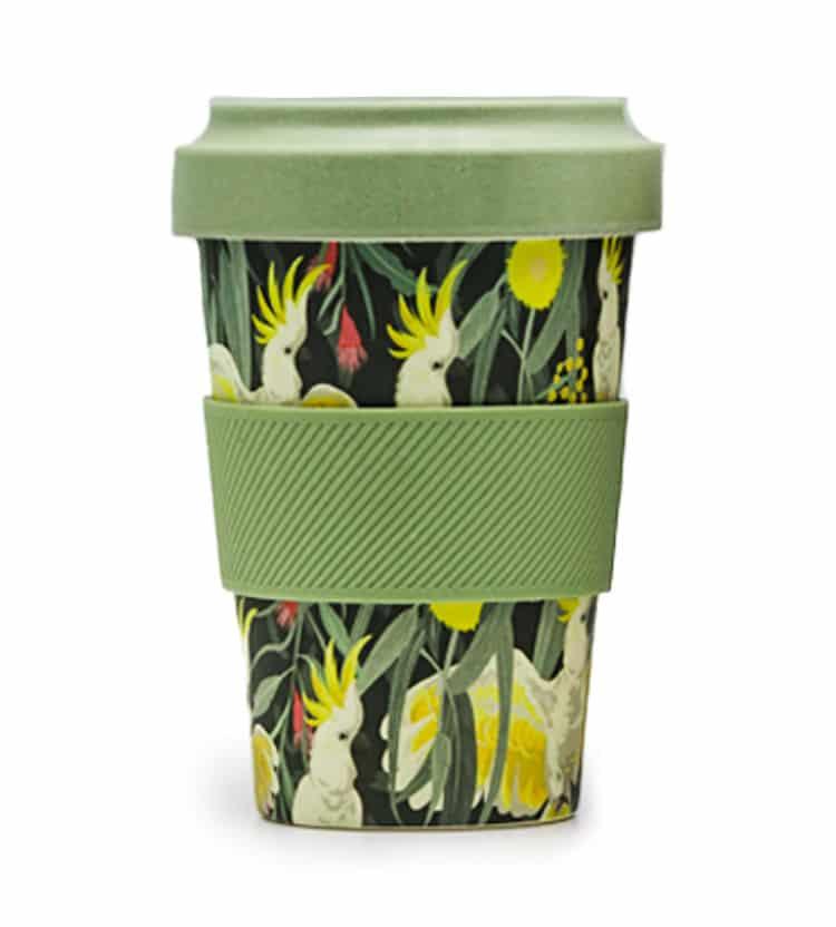 Cockatoo Coffee Cup