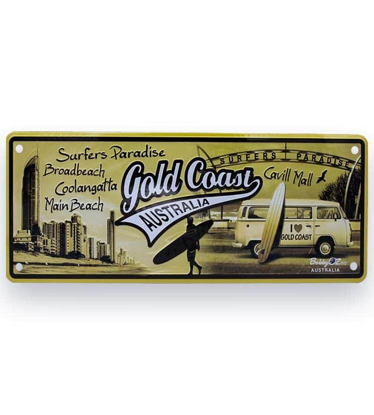 Gold Coast license plate