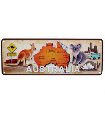 Aussie License Plate