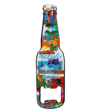 Australian Icon Magnet Bottle Opener
