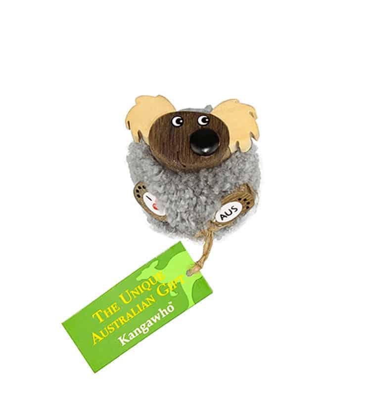 Fluffy Koala Magnet