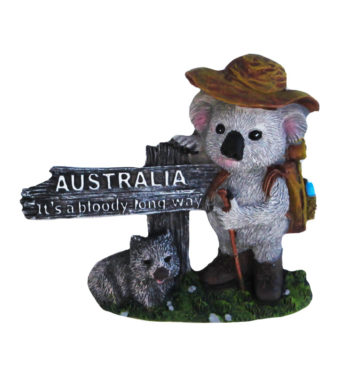 Koala Long Way Magnet