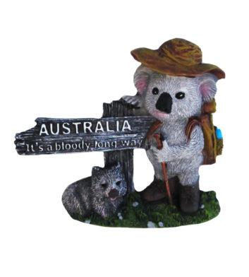 Koala Long Way Magnet