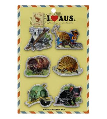 Australian Animal Magnets 6 Pack