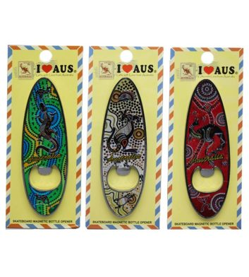 Kangaroo Surfboard Bottle Opener