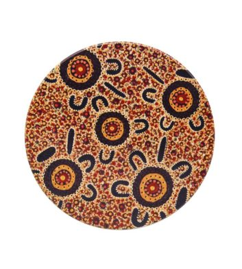 Bush Tucker Aboriginal Coaster
