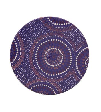 Desert Waterholes Aboriginal Coaster