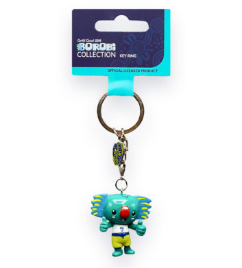 Commonwealth Games Borobi keyring