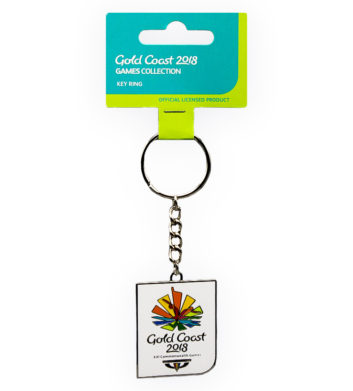 Commonwealth Games logo keyring