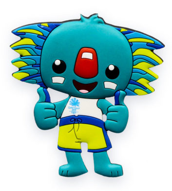 Commonwealth Games Borobi Magnet
