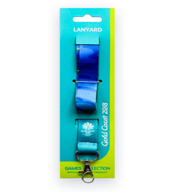 Commonwealth Games lanyard