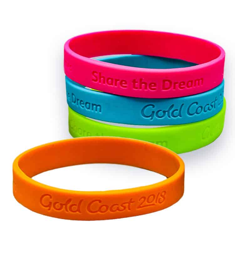 Commonwealth Games wristbands