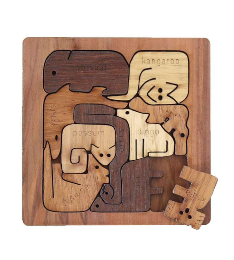 Square Australian Animal Puzzle