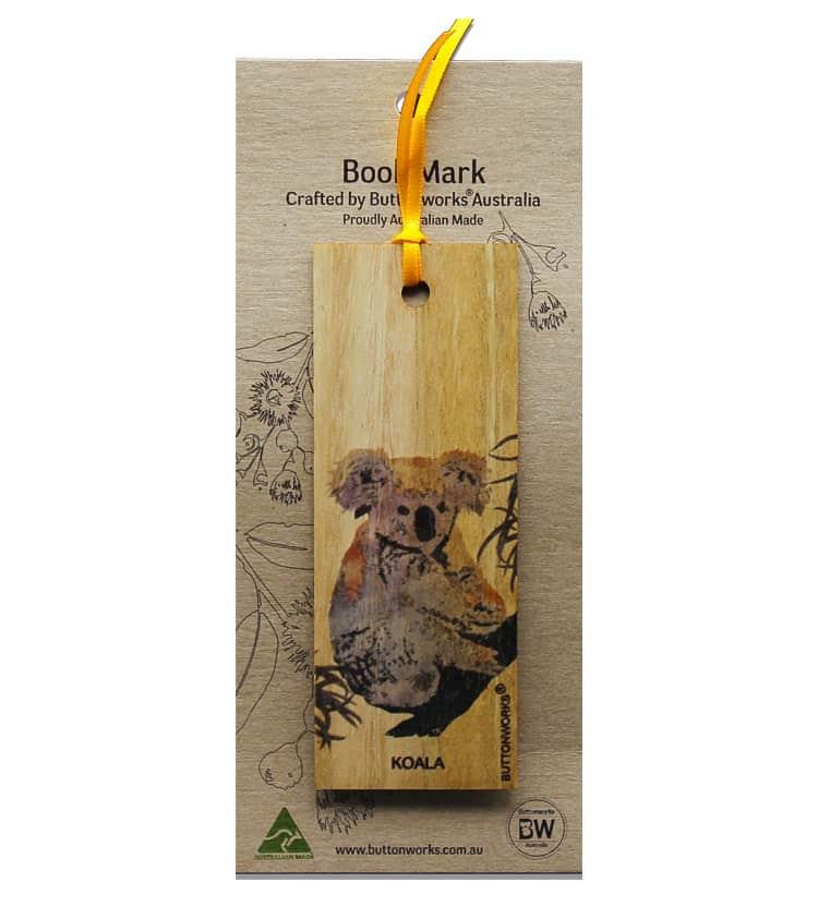 Koala Bookmark Colour