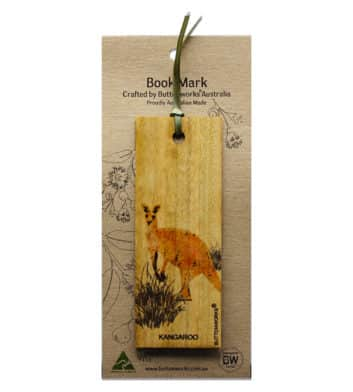 Kangaroo Bookmark Colour
