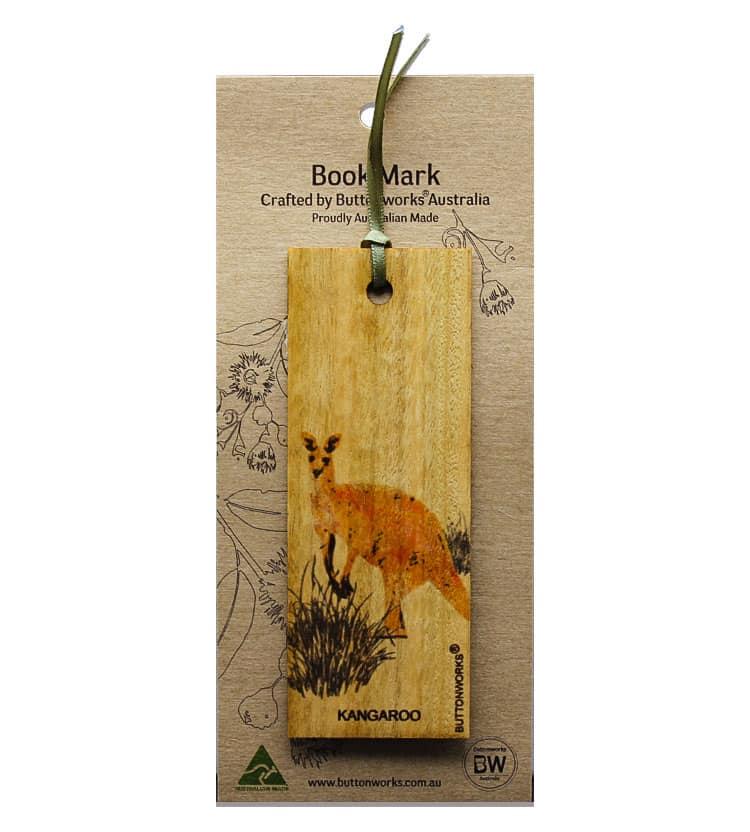Kangaroo Bookmark Colour