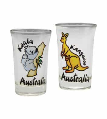 Koala Kangaroo Shotglasses