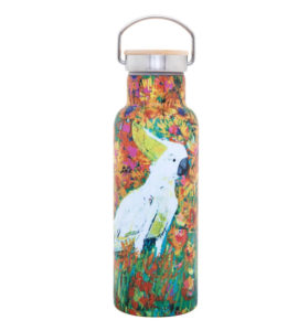 Kenny The Cockatoo Drink Bottle