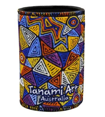 Aboriginal Wetsuit Cooler Yellow