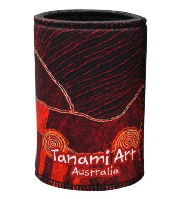 Aboriginal Wetsuit Cooler Red