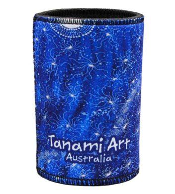 Aboriginal Wetsuit Cooler Blue