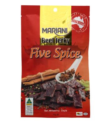 Five Spice Beef Jerky 75g