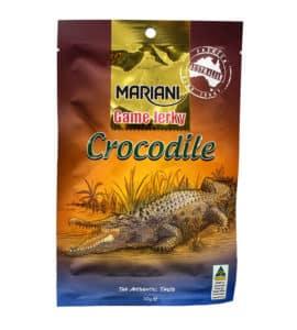 Crocodile jerky