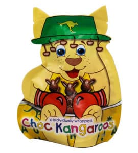 Chocolate Kangaroos Pouch