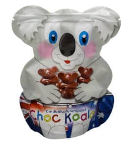 Chocolate Koalas Pouch