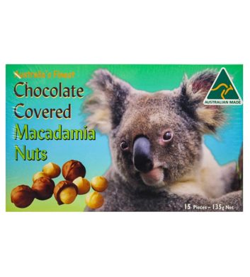 Chocolate Covered Macadamia Nuts 135g