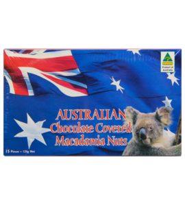 Chocolate Covered Macadamia Nuts Flag