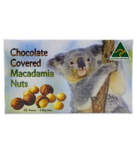 Chocolate Covered Macadamia