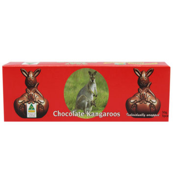 Chocolate Macadamia Kangaroo Shapes 35g