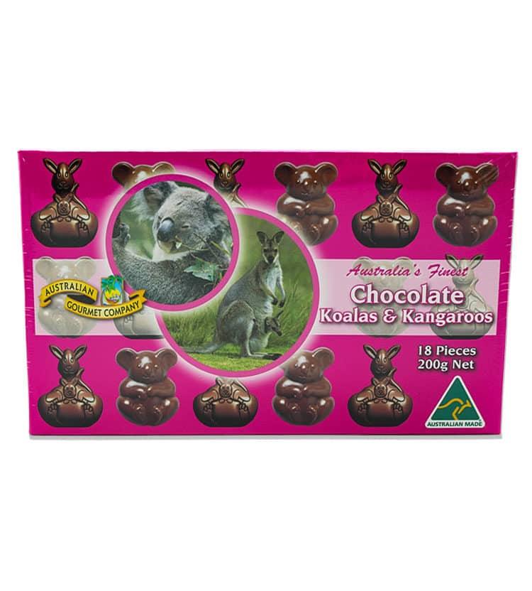 Chocolate Koalas & Kangaroos
