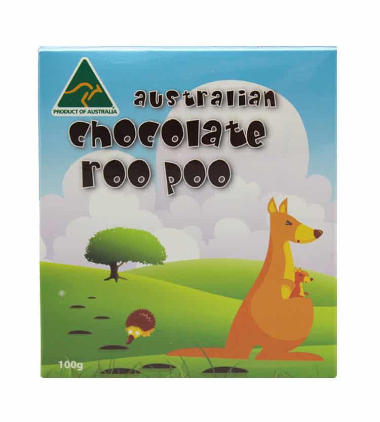 Kangaroo Poo Chocolate