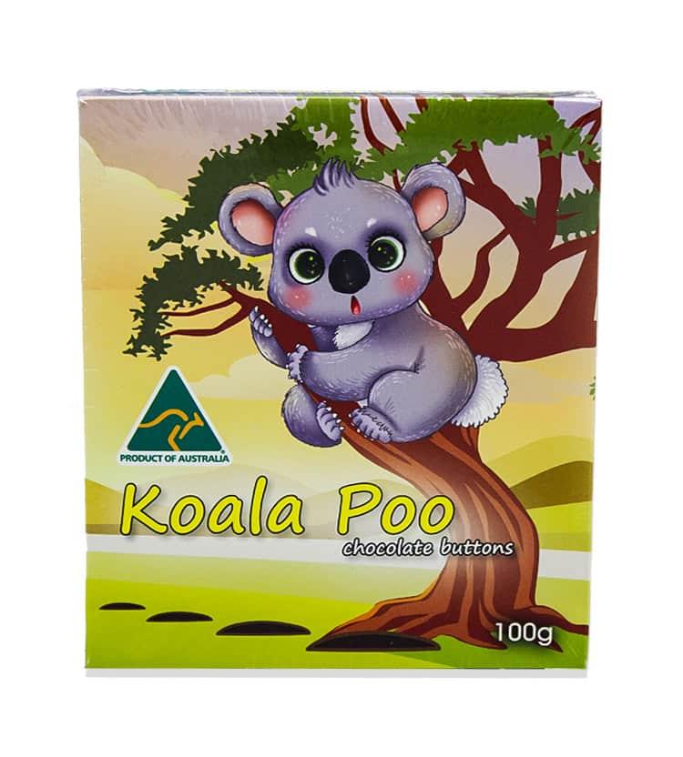 Koala Poo Chocolates
