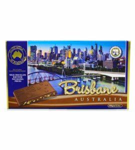 Brisbane macadamia chocolate bar