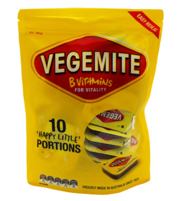 Vegemite Portions