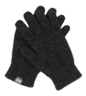 Merino Possum Gloves Charcoal