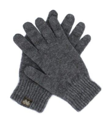 Merino Possum Gloves Grey