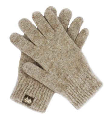Merino Possum Gloves Beige